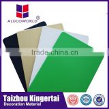 Alucoworld superior quality aluminum composite panel manufacturer for foil decoration material