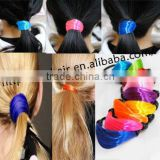 high quality wholesale price beautiful hair attachment synthetic hair ring pretty fashion ornament hair holder