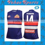 AFL jumper rugby jersey uniform custom design rugby shirts