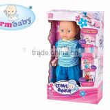 Kid toy the doll can crawl and learn walking very small baby doll for kids