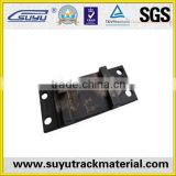 promotion of railroad tie plate