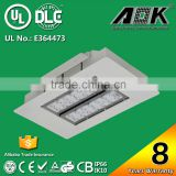 DLC IK10 High Luminous Output Factory LED Dimmable Gas Station Light with High Anti Salty Air Corrosion