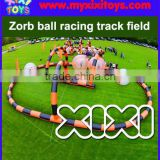2016 Hot sale zorb hamster ball inflatable race tracking field                                                                         Quality Choice