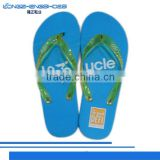 New men EVA/PE sole flip flops massage slipper