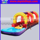 Funny backyard inflatable water slip N slide for children,inflatable water silde
