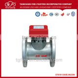 Hot sale flanged type saddle type water flow detector indicator