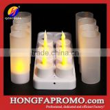 Votive Candles Rechargeable LED Tealight Candle set of 12pcs