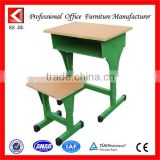 Steel furniture cheap used student desk china school desk with bench