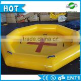 Hot Sale!!! inflatable pool rental, floating swimming pool for sale 0.6mm PVC material Water Sports