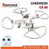 Model toys CX-20 2.4G 6AXIS 4CH FPV/GPS RC Quadcopter/drone/ufo/saucer/X-Dart rc drone with camera