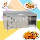 Fabricated kitchen cabinet/ stainless steel kitchen cabinet/ Russia standard stainles steel kitchen cabinet