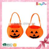 2015 Halloween Alibaba China Wholesale Used Halloween Costumes Sale Promotional Gift Pumpkin Bag