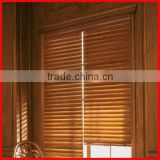 completed venetian blinds parts for home, pvc faux wood blinds with manufacture in dongguan
