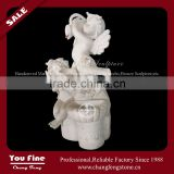 Outdoor Marble Angel Water Fountain