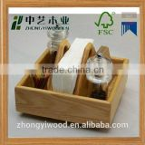 Hot sale Chinese supplier Wholesale simply classical kitchen accessories spice jar sets spice holder wooden box holder                                                                         Quality Choice