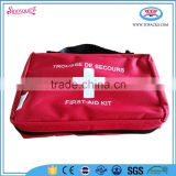 red custom wholesale nylon first aid kit bags