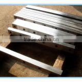 stainless steel blade/cutting carbon steel blade/aluminium sheet blade for shearing machine