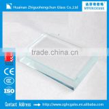 Anhui ZGHC high quality best price 3mm 3.2mm 4mm ultra white solar panel low iron tempered glass