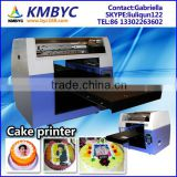 Direct on edible cake printing, birthday cake photo printing machine