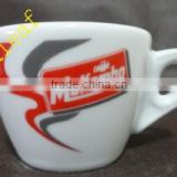 bone china cup for hotel restaurant office home use 300ml ceramic tea cup and saucer wholesale