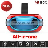 All In One Virtual Reality VR Headset, 3D VR Glasses for Sex Video xnxx Movies Cinema Game, Google Cardboard VR Box