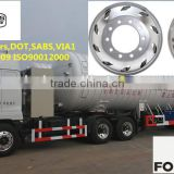 aluminium forging wheel for truck and bus