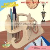 Boat-Race Pen-Container 3D Jigsaw Wooden Puzzle Wood DIY Model