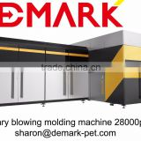 Demark automatic bottle blowing machine with 16molds, rotary blow molding machine for bottles