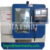 lathe mill combo XK7125/XK7132/XK715/VM800/VM850 Series milling machine from manufacturing machinery taian haishu