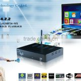 china factory android tv box dvb-s2 combo tv box support wifi with biss+cccam/newcam network sharing wifi radio receiver