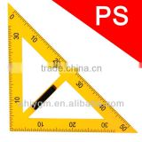 40cm Plastic with Removable Handle Triangular Teaching Ruler /set square/plastic triangle ruler
