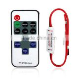 12V RF Wireless Remote Switch Controller Dimmer for Mini LED Strip Light New EVM