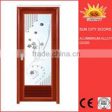 Aluminium sliding door track with louver design SC-AAD016