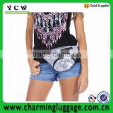 Custom waist bag sequin fanny pack wholesale