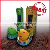 coin operated kids simulator racing car game machine baby speed up racing game kids ride game machine