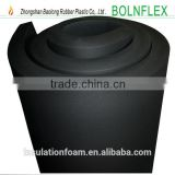 China supply low thermal conductivity nitrile rubber foam heat insulation tube (pipe) for hvac