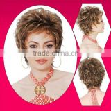 Special discount brazilian swiss lace lady wigs