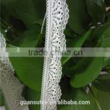 Free Sample Crochet Flower Lace Trimming For Ladies Winter Suits Salwar Kameez Decorations
