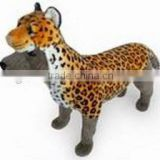 new fashion plush brown leopard pet coat dog clothes cat coat plush brown leopard pet cosplay costume plush animal pet costume