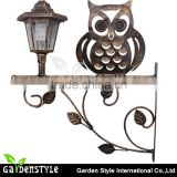 outdoor wall lamps, wrought iron fence light wall, owl shape led outdoor wall light