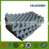 Cheap acoustic rubber wedge foam sheets