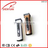 Professional Cordless Hair Clipper Rechargeable Ceramic Blade Hair Trimmer trave wholesale price