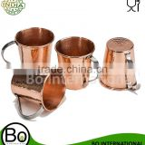 Manufacturer & Wholesaler of 100% Copper Moscow Mule Mugs & Cups for VODKA MIXOLOGY