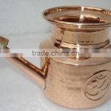 Best No 1YOGA Solid Pure Copper Neti Pot for Nasal Irrigation and Health Benefits from Leading manufacturer from India
