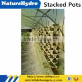 INquiry about Vertical plastic garden tower plastic stackable pots