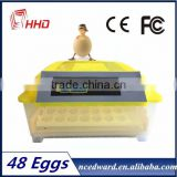 HHD More Than 96% Hatching Rate Cheap Price Incubator For Quail Eggs Hatching 50 Eggs For Sale Edward Brand From China