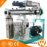 Henan Strongwin medium farm 5t/h sheep duck chicken feed pellet machine with siemens motor