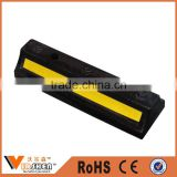Yellow Striped Parking Lots Garage plastic reflective car wheel stop block