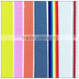 Grosgrain trampoline elastic band for formal dress