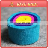 12M crepe craft paper in roll handmade craft paper punch